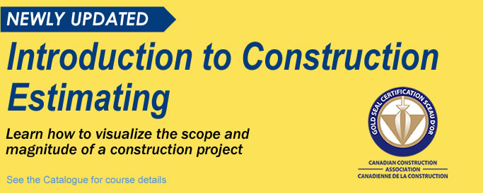 RConstruction Estimating Course Header