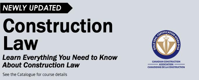 Law Course Header